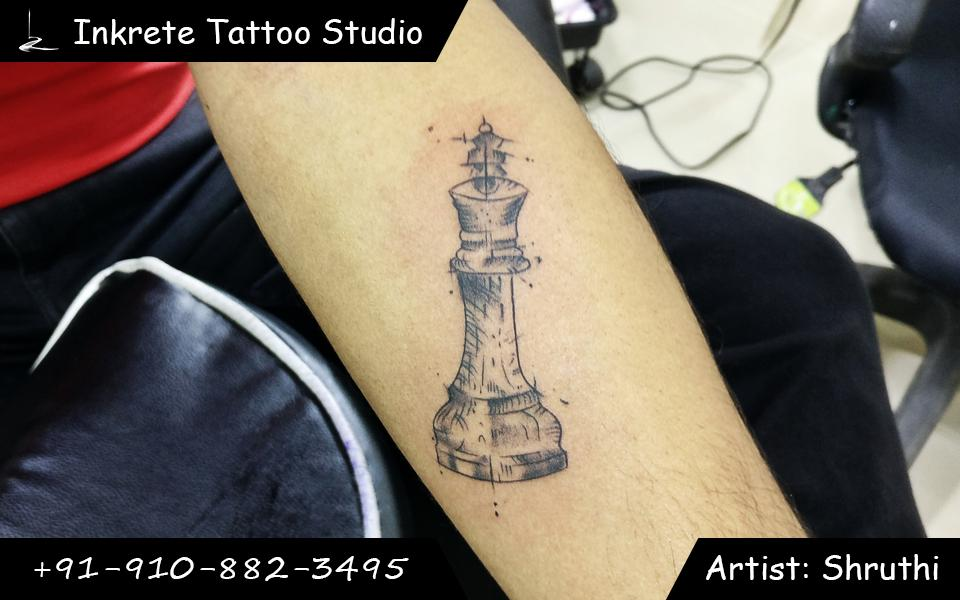 chess tattoo, pawn tattoo, small tattoo ideas