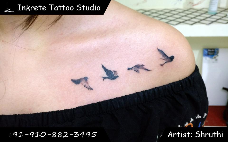 bird tattoo, freedom tattoo, small tattoo ideas